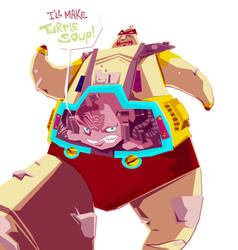krang loves turtle soup by speedball0o