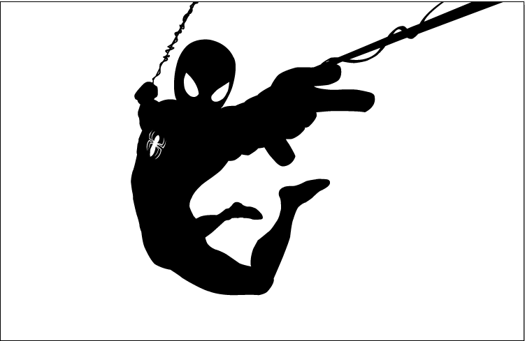 Spider-Man Silhouette by Ba-ru-ga on DeviantArt
