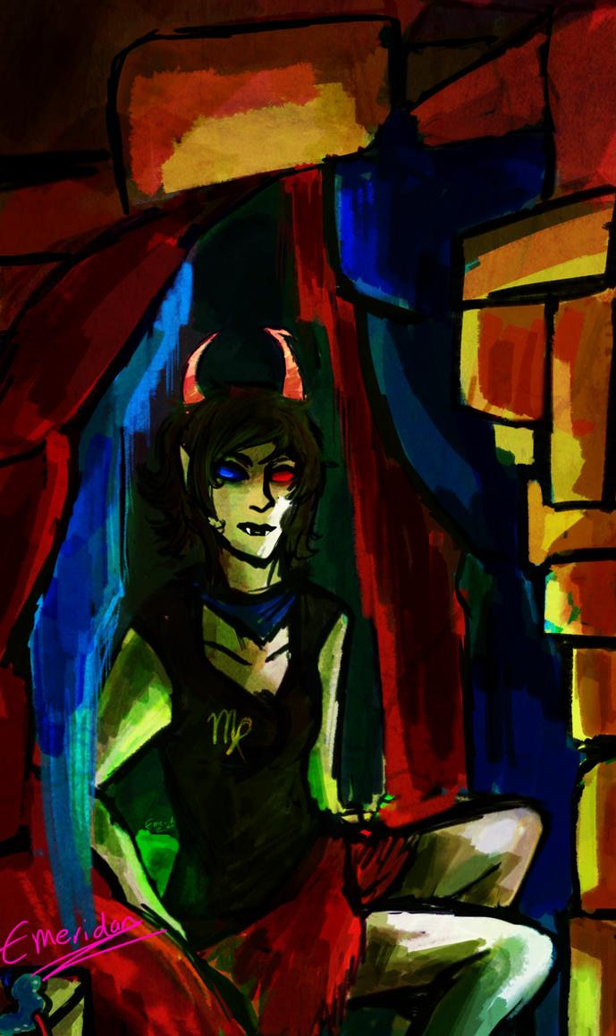 His Infernal Wrigglerhood by HemeraTak