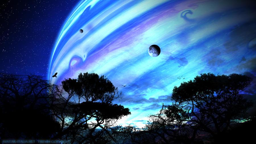Avatar - Pandora's View by frey84