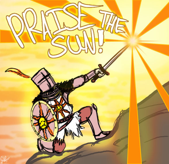 Praise the Sun by Gamers-Anonymous on DeviantArt