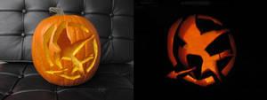 Hunger Games Pumpkin