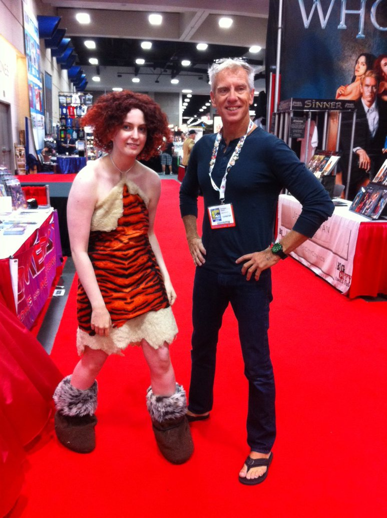 Alohalilo  Chris Sanders  With A Cosplayer Of  by LaurenKitsune
