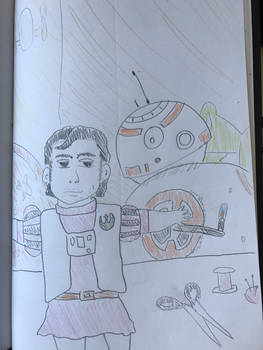 BB-8 and Pascal Dameron