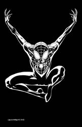 Ultimate Spider-Man Pinup (BW)