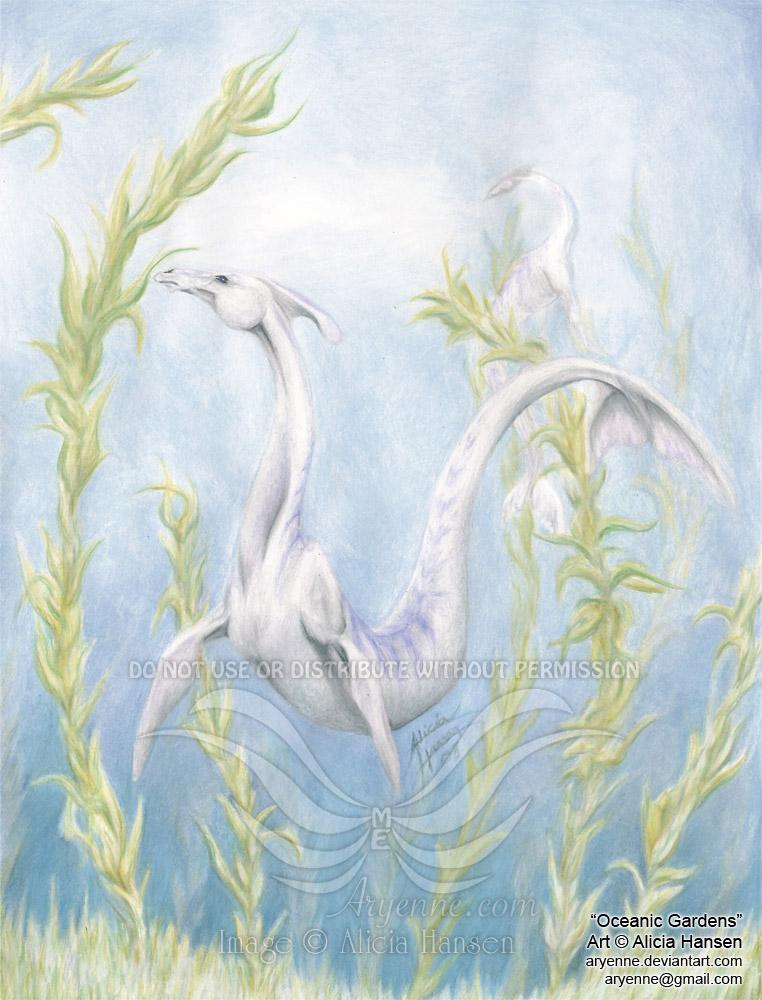 Oceanic Gardens by Aryenne