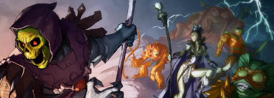 Motu Evil Guys by AldgerRelpa