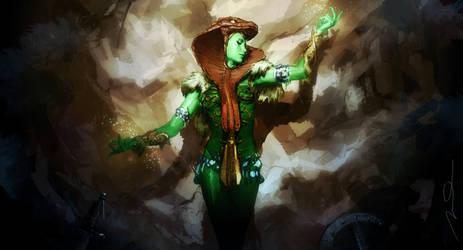 Green Goddess Fan Art