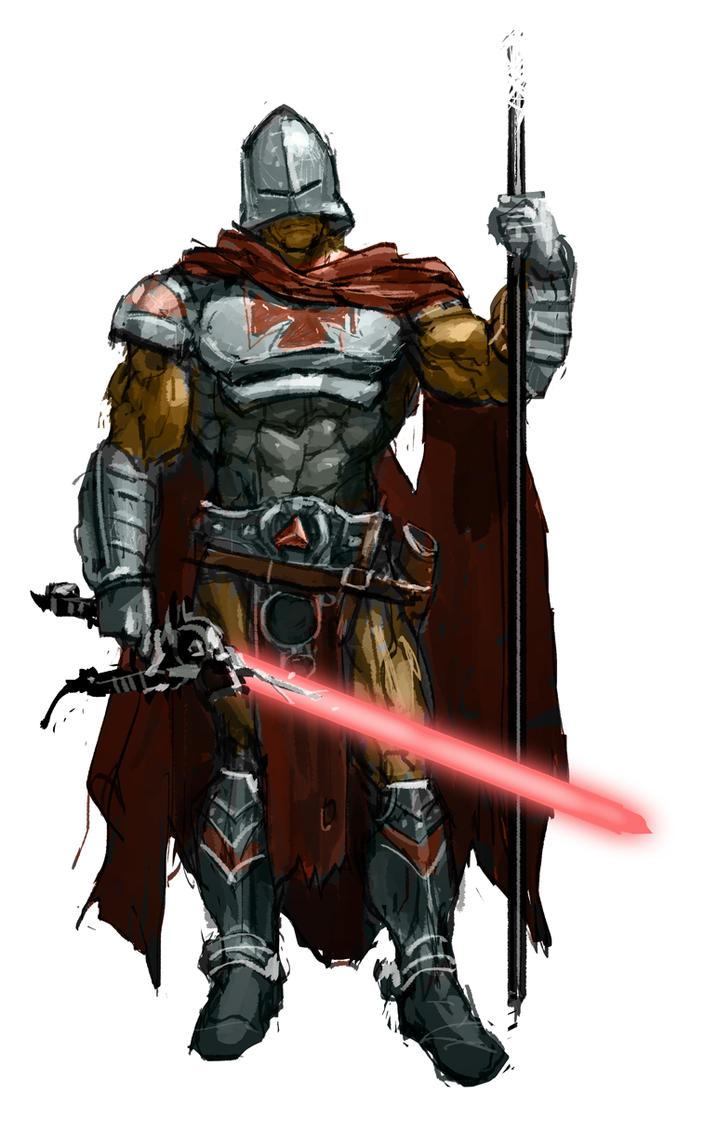 Sir Laser Lot MOTU Character Revamped by AldgerRelpa