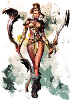 Street fighter Teela