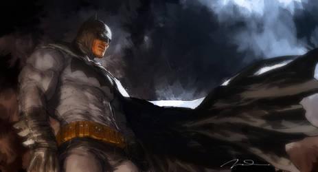 Dark Knight Returns Fan Art
