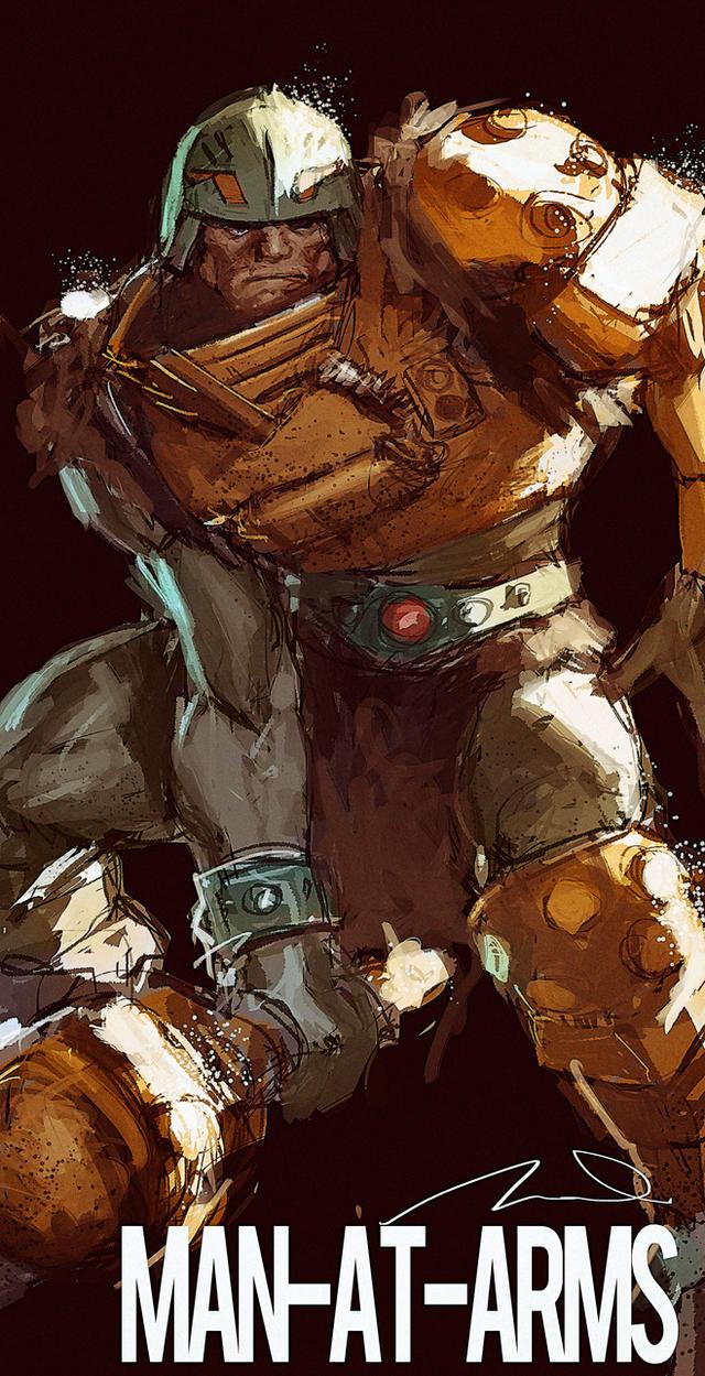 Man At Arms MOTU Fan Art by AldgerRelpa