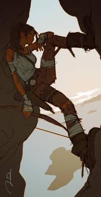 Lara Croft contest
