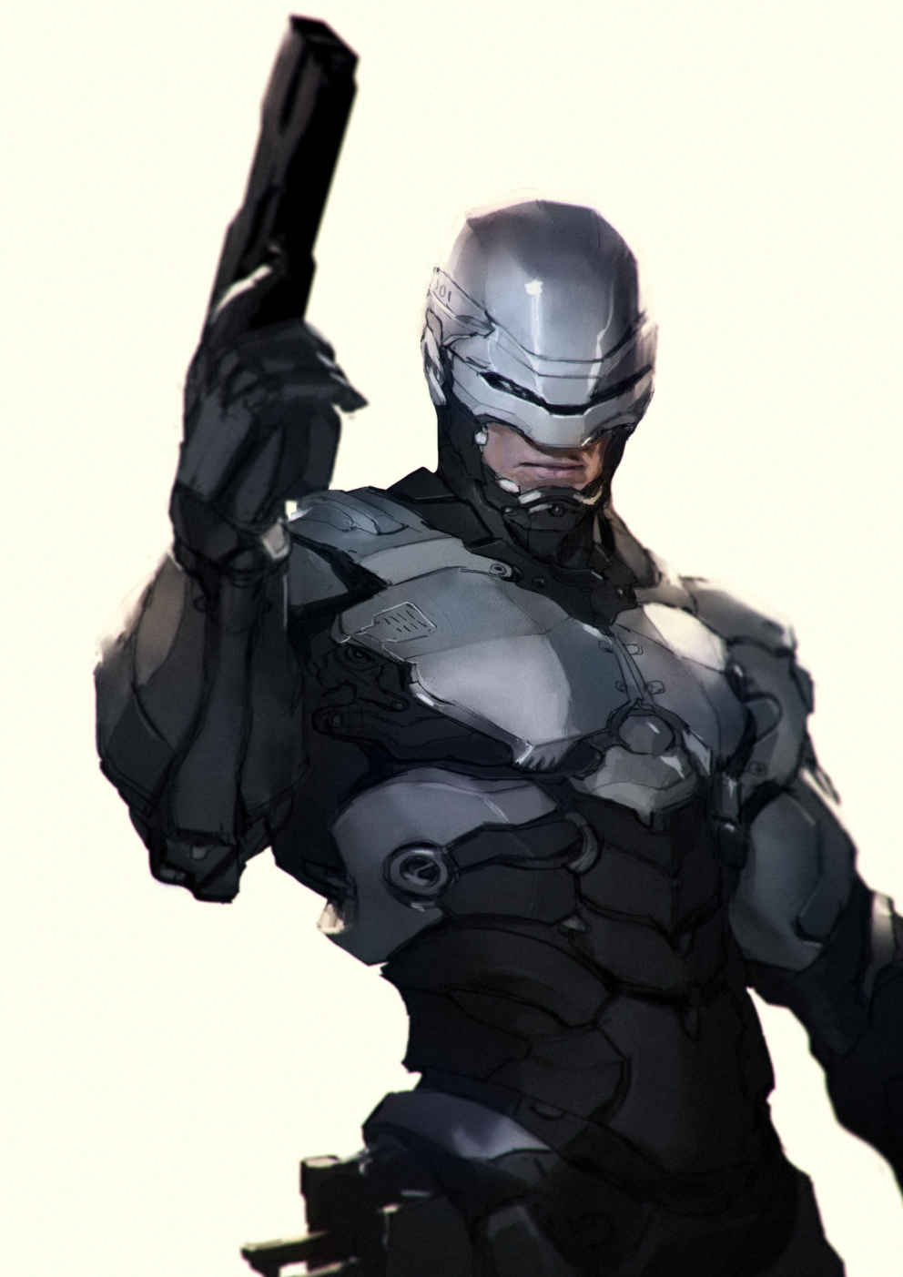 Robocop re-design attempt