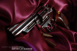Kokusai Smith and Wesson M19 Combat Magnum 4inches