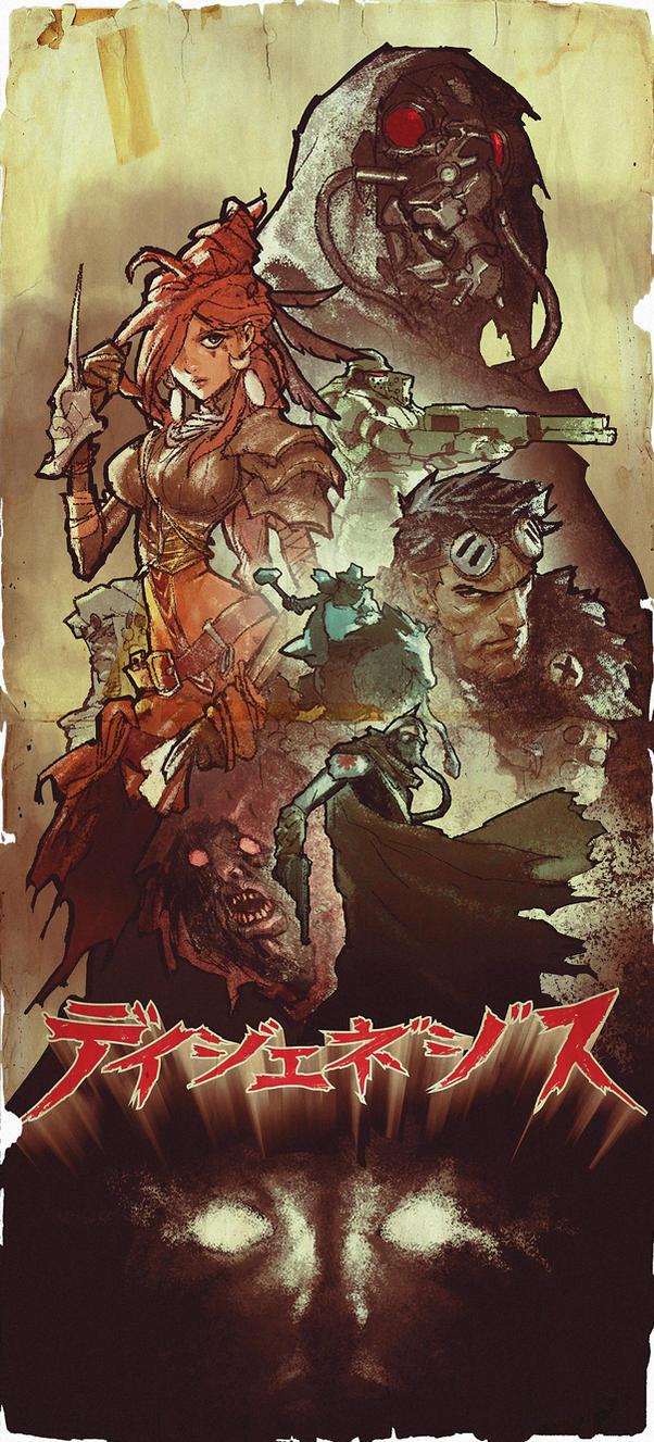 Degenesis Japanese Movie Poster by AldgerRelpa