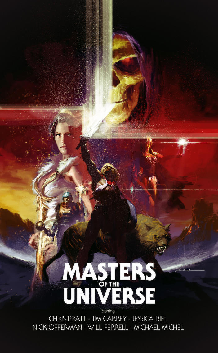 Masters of the Universe Movie Poster (fake movie) by AldgerRelpa