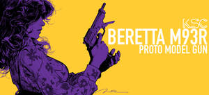 Beretta M93R BOX ART