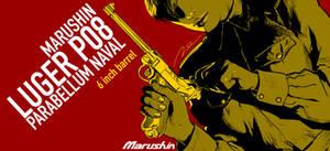 Marushin Luger P08 BOX ART by AldgerRelpa