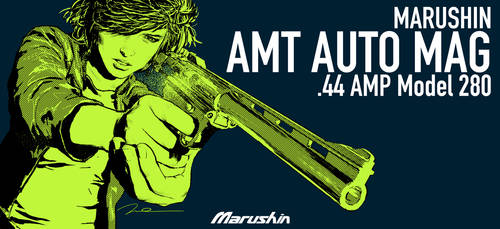 MARUSHIN AMT AUTO MAG BOX ART Dirty Sally 3