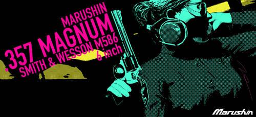 MARUSHIN SW M586 BOX ART by AldgerRelpa