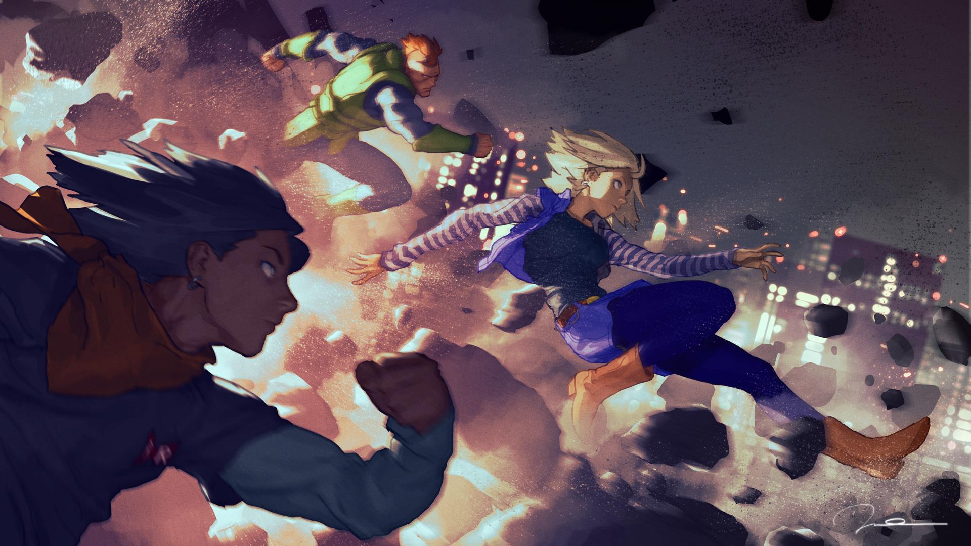 The Androids Invasion by AldgerRelpa