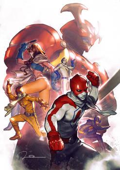 Battle Fever J - Tribute