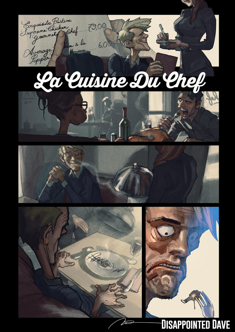 Disappointed Dave 07 - La Cuisine Du Chef by AldgerRelpa