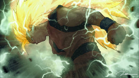 Goku-Super-Saiyan-3 by AldgerRelpa