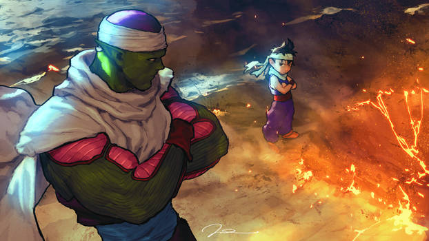 Piccolo-and-Gohan