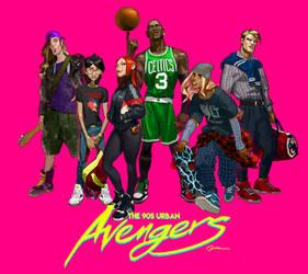 90s street Avengers
