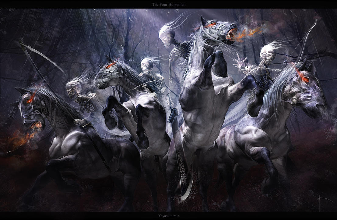 THE FOUR HORSEMEN by Yayashin