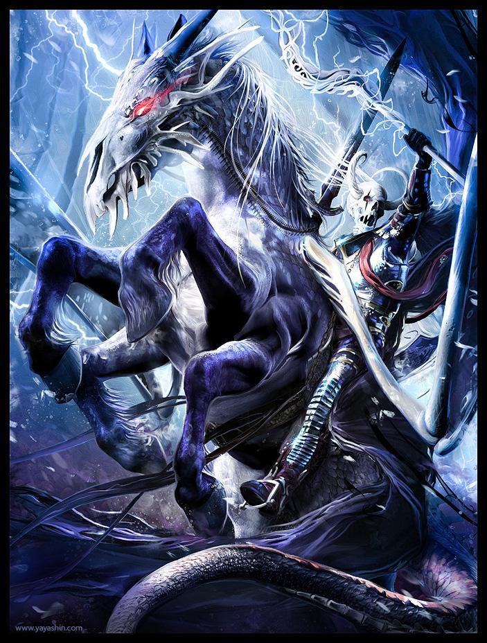 KNIGHT OF DEATH by Yayashin