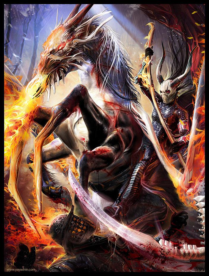 KNIGHT OF DEATH 2 by Yayashin