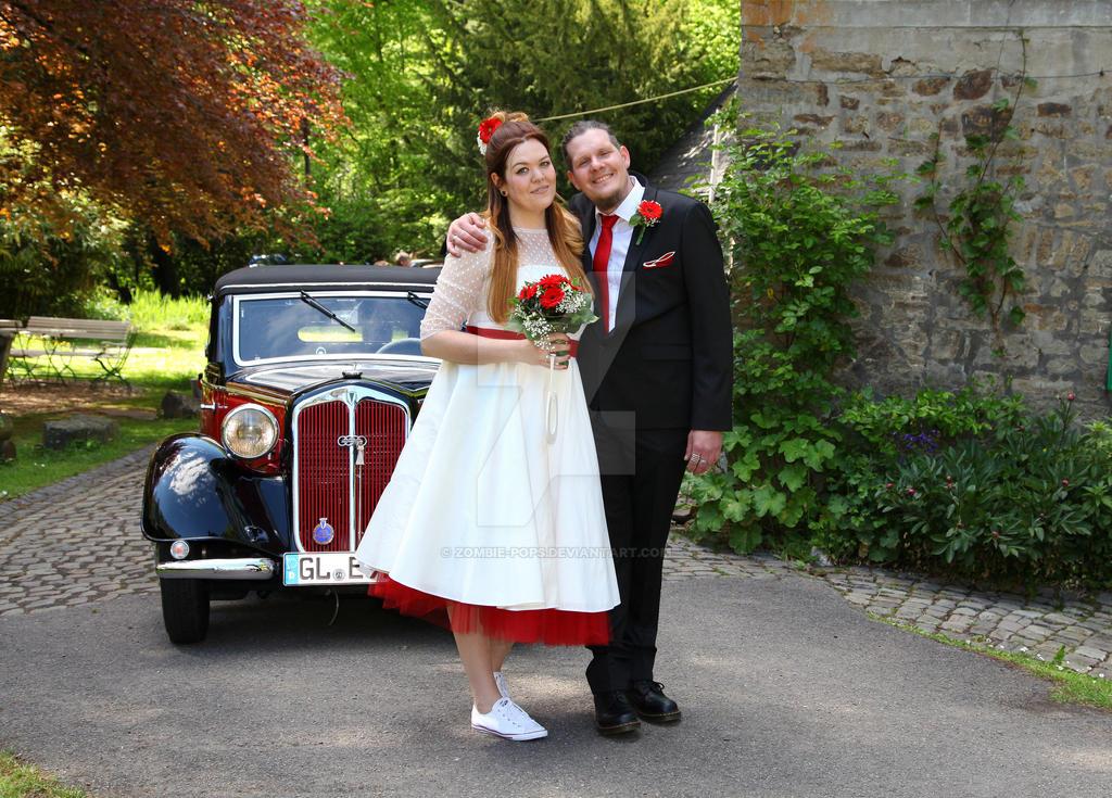 Wedding photo by zombie-pops