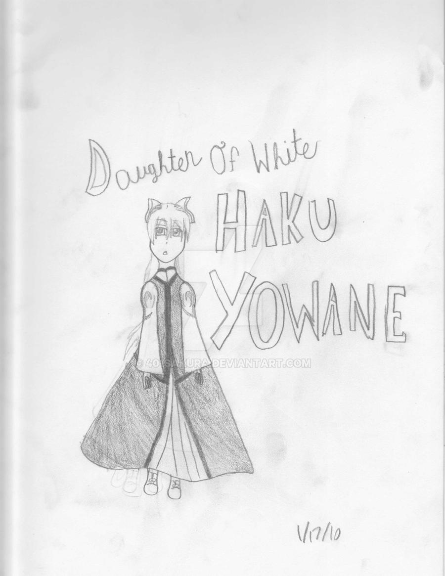 daughter of white haku yowane by 401sakura on deviantart