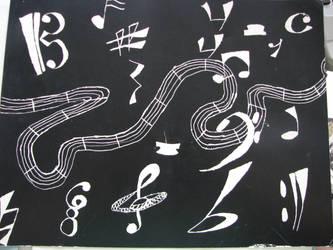 Music My World by blackmoonfaery