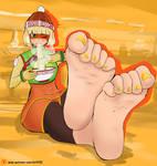Min min feet