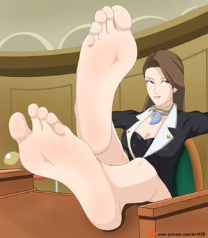 Mia Fey Feet