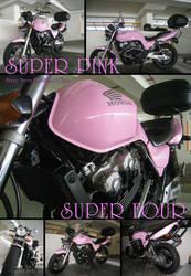 Super Pink Super Four