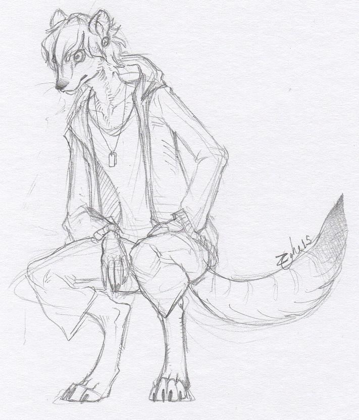 Sketch - Myth by Zyhe