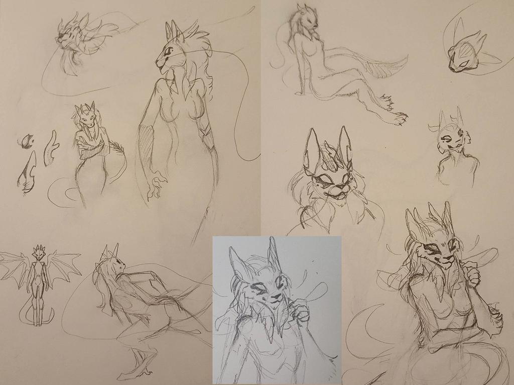 Sketch - Ai-Zen by Zyhe