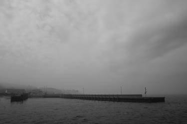 foggy harbor by JonathanMH