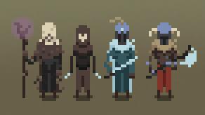 Pixel Characters002 by igorsandman