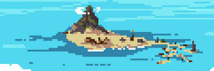 71/365 pixels : The Island by igorsandman