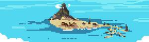 71/365 pixels : The Island