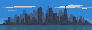 123/365 pixels : Cityscape by igorsandman