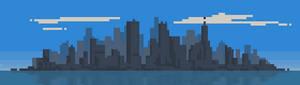 123/365 pixels : Cityscape