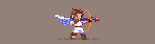 167/365 pixels : Kid Icarus by igorsandman