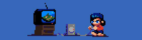 211/365 pixel art : Playstation love by igorsandman